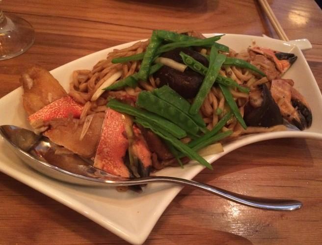 Dungeness & Rock Crabmeat Long Life Noodles