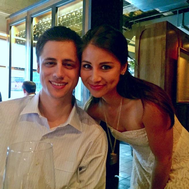 Nick and I