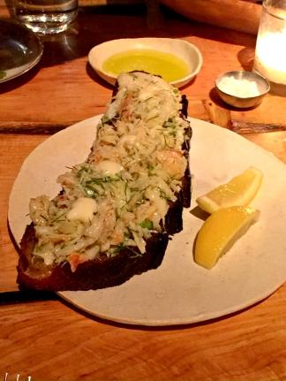 Crab Toast