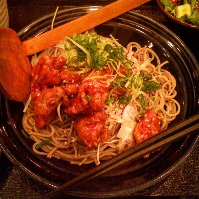 [Cold ramen noodles.]