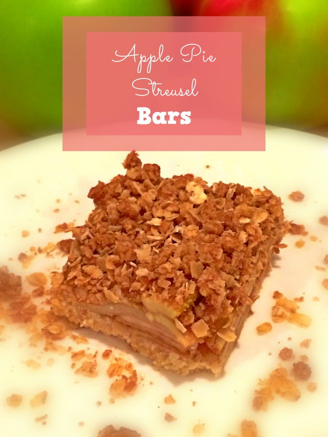 Apple Pie Strusel Bars
