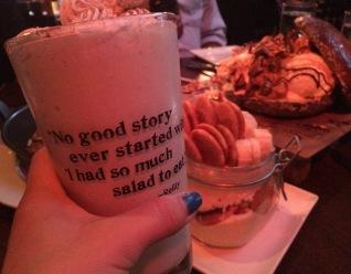Horchata milkshake